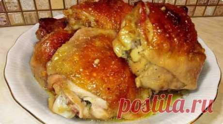 Сочные и пикантные куриные бедра: ужин без возни и заморочек