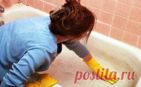 Как сделать ванну белоснежной за 7-8 минут. Самый качественный метод. | Дачный СтройРемонт | Яндекс Дзен