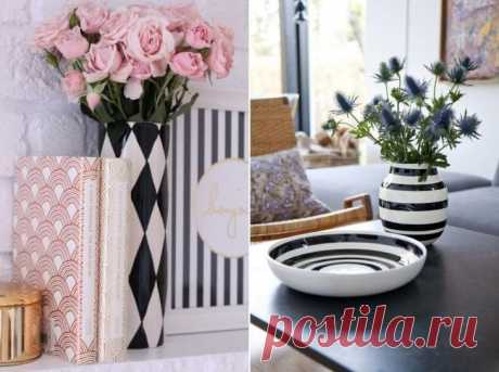 Manual list of a vase: 3 master classes and 45 ideas of a decor