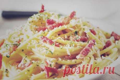 Паста карбонара с пармезаном рецепт – европейская кухня: паста и пицца