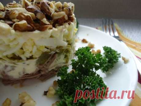 Удивительно вкусный салат «Принц» - Кулинария - это искусство