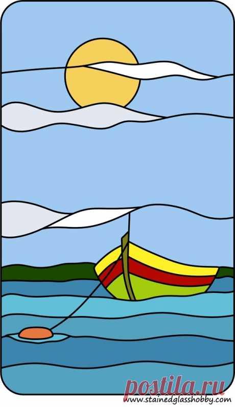 Витражное море