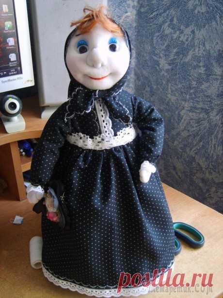 Бабуля -кукла грелка для чайника