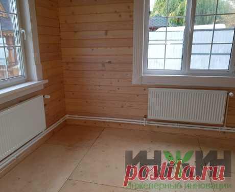 Монтаж отопления в деревянном доме, фото 807
