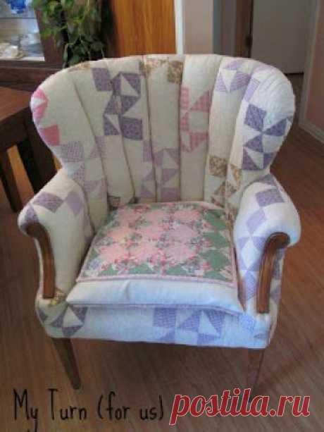 Ремонт кресла.