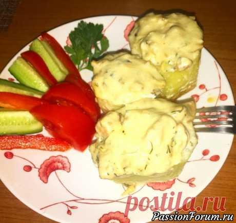 Жульен с курицей и грибами в картофельном бочонке - запись пользователя DallasLilu (Лилия) в сообществе Болталка в категории Кулинария