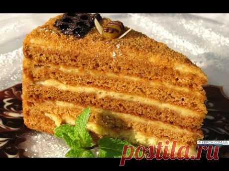 Торт медовик - Готовьте с удовольствием!