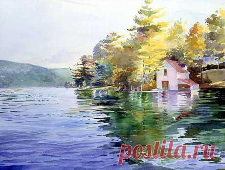 Живопись - это поэзия, которую видят Светлана авс