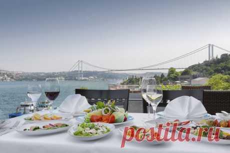 8 лучших ресторанов Стамбула с видом на Босфор: обзор, цены