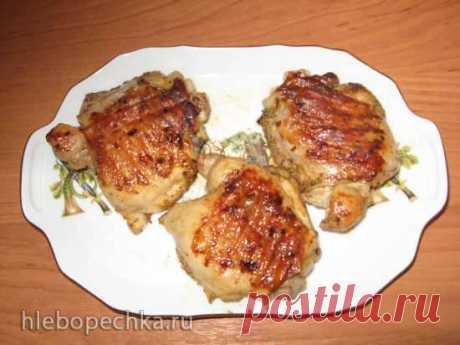 Куриные бедра на гриле (электрический гриль Steba 4.4) - Хлебопечка.ру