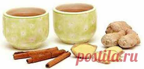 чай для похудения имбирь корица