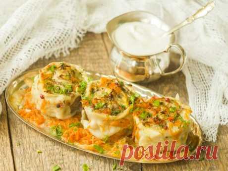 Ленивые пельмени на сковороде — Sloosh – кулинарные рецепты