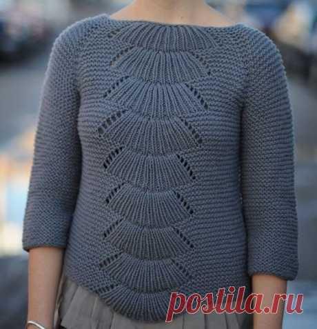 СВИТЕРА КОФТЫ пуловеры спицами — Вязание & Декор