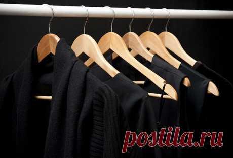 Как восстановить черный цвет одежды? — Полезные советы