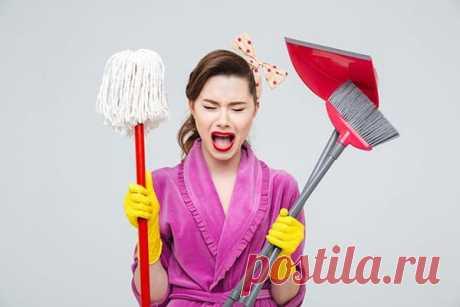 Как не стоит наводить чистоту — 6 самых распространенных ошибок в уборке дома