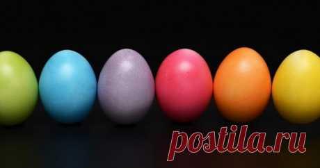 Почему мы красим яйца на Пасху — Интересные факты