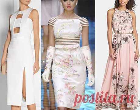Четыре выкройки летних платьев
