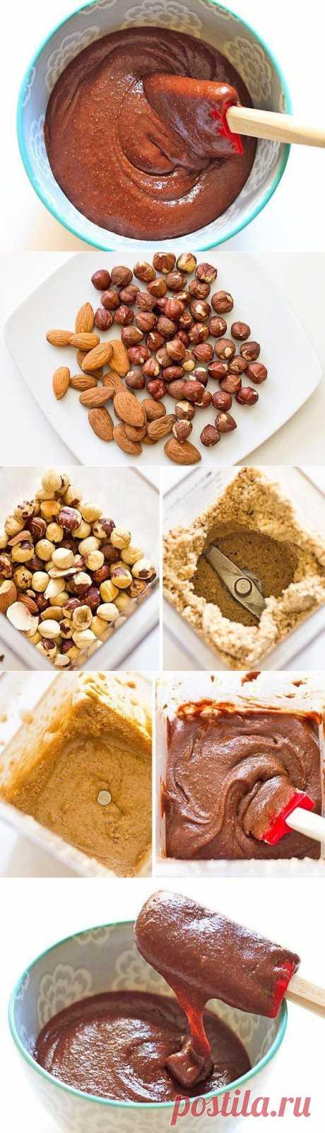 Домашняя орехово-шоколадная паста | Готовим вместе