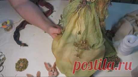 Художественная окраска и декорирование фактурной ткани, Кукольная мастерская, Светлана Кошевая