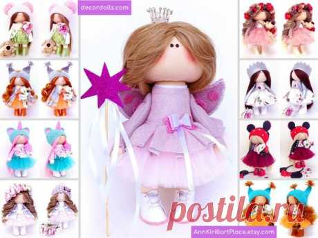 Little Princess Doll Handmade Angel Custom Doll Queen Art | Etsy Hello, dear visitors!  This is handmade textile doll created by Master Irina S (Krasnodar, Russia). Doll can be made by Order. Doll is 28 cm (11.02 inch) tall.  All dolls on the photo are made by master Irina S. You can see all dolls by Maria L by search in our shop: