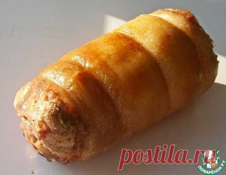 Завиванец из свиной рульки – кулинарный рецепт
