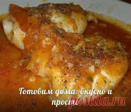 Кальмары в чесночно-томатном соусе