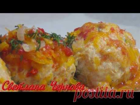 Тефтели из Курицы с Тыквой! Очень Сочные  и Вкусные !!!/Meatballs from Chicken with Pumpkin!