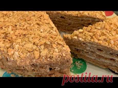 Торт Стёпка-Растрёпка   Տորթ տապալված  Ստյոպկա   Cake Three Restrepo