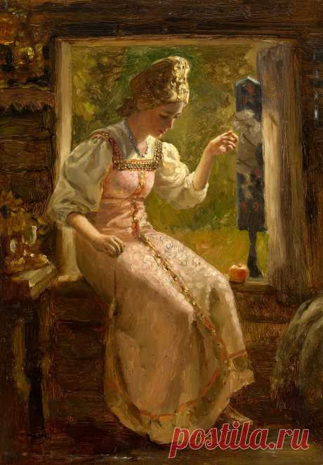 guslikoleso / Russian painting / Russian artist / Russian painter / Russian landscape - Salvabrani