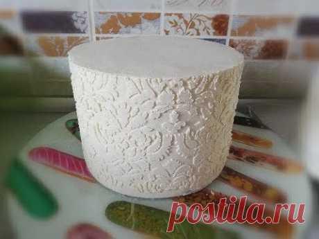 Идеальный КРЕМ для выравнивания торта БЕЗ сыра шоколада