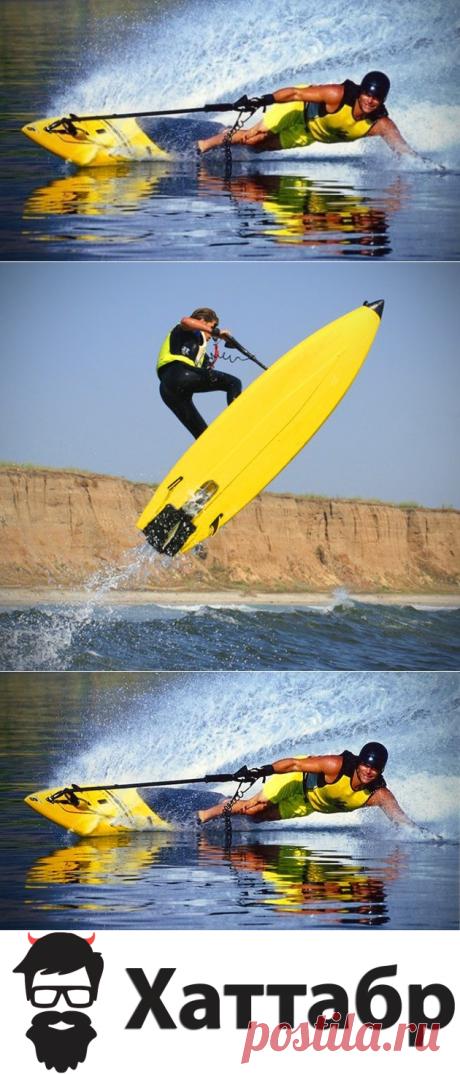 Jetboard не нужно волн, сочетает в себе водные лыжи и доску для серфинга | Хаттабр.Ру