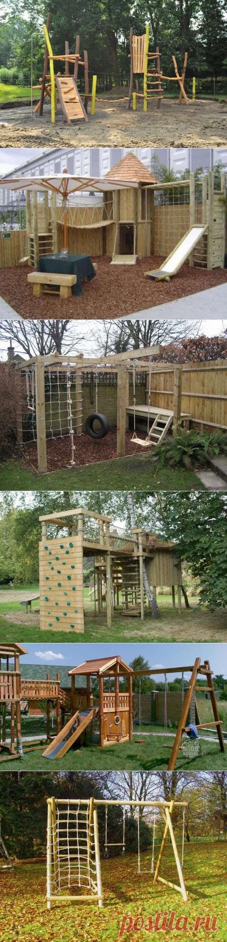 Children's playground of 300 photos
