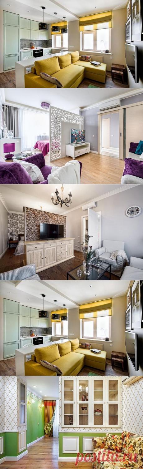8 хитростей расстановки мебели в однокомнатной квартире