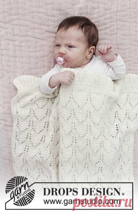 Детский плед Sweet Peonies - блог экспертов интернет-магазина пряжи 5motkov.ru