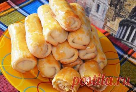 Пирожки Сигаретки с капустой - пошаговый рецепт с фото - как приготовить - ингредиенты, состав, время приготовления - Дети Mail.Ru