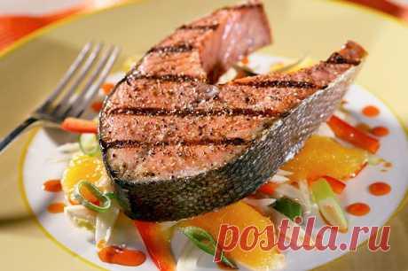 Подборка питательных и полезных рыбных блюд.