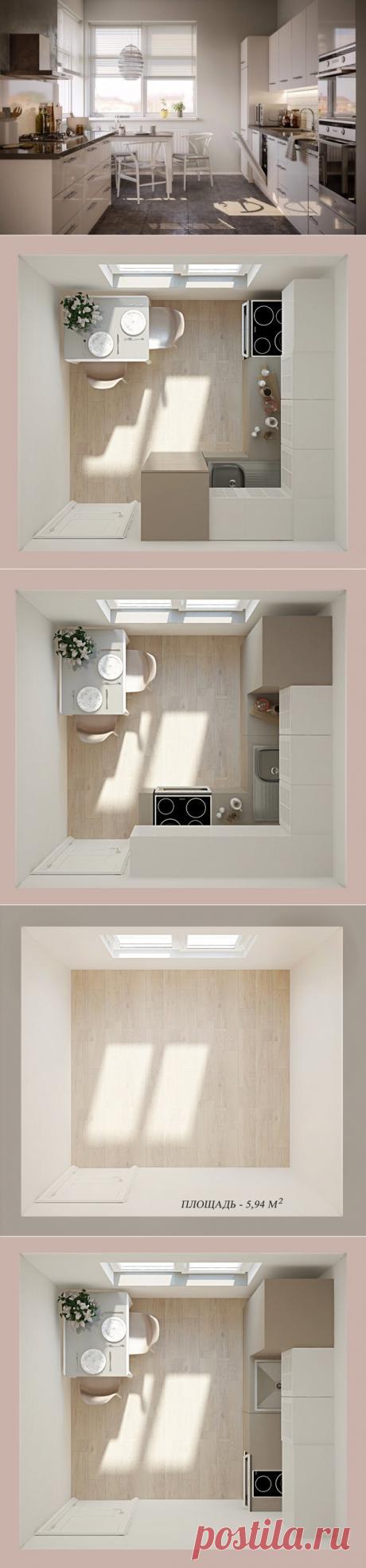 5 идей, как обустроить маленькую кухню в панельном доме | Свежие идеи дизайна интерьеров, декора, архитектуры на INMYROOM