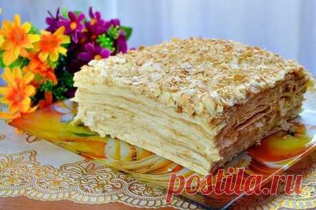 Торт «НАПОЛЕОН» без выпечки - Кейс советов