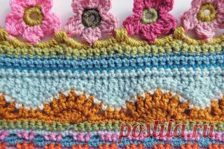 Красивый дизайн одеяла от Jane Crowfoot