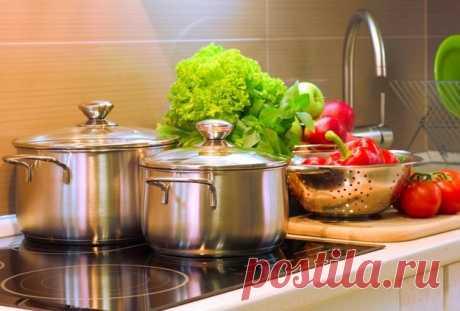 Как очистить посуду из нержавеющей стали / Домоседы