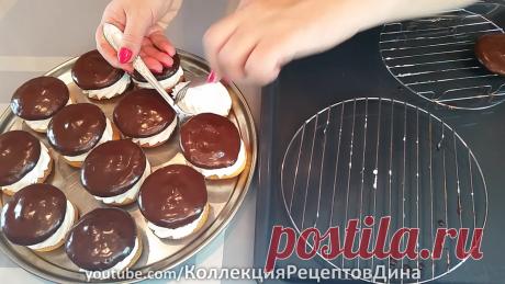 Нежное пирожное «буше» - 2 вкусных рецепта!   Дина, Коллекция Рецептов   Яндекс Дзен