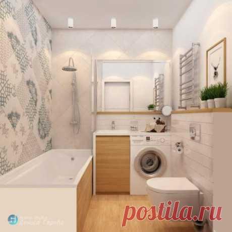 Маленькая ванная комнат 3. 5 кв.   Всё об интерьере для дома и квартиры