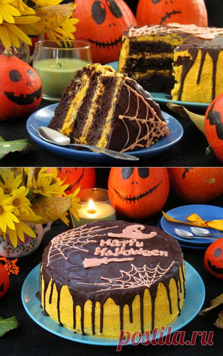 Постигая искусство кулинарии... : Тыквенно-шоколадный торт