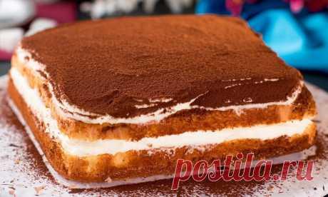 Готовим ТВОРОЖНЫЙ торт: берем 4 яйца, 200 г творога, 120 г сахара и немного ловкости рук