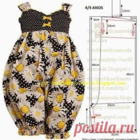 Выкройки платьев для малышек (Шитье и крой) | Журнал Вдохновение Рукодельницы