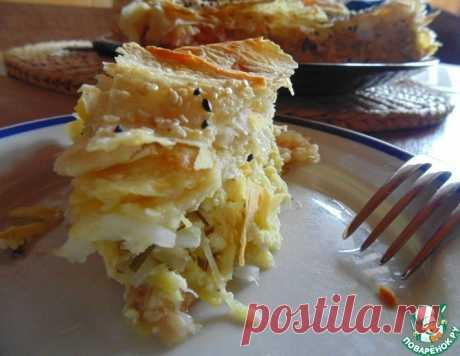 Пирог с кабачками и лавашем – кулинарный рецепт