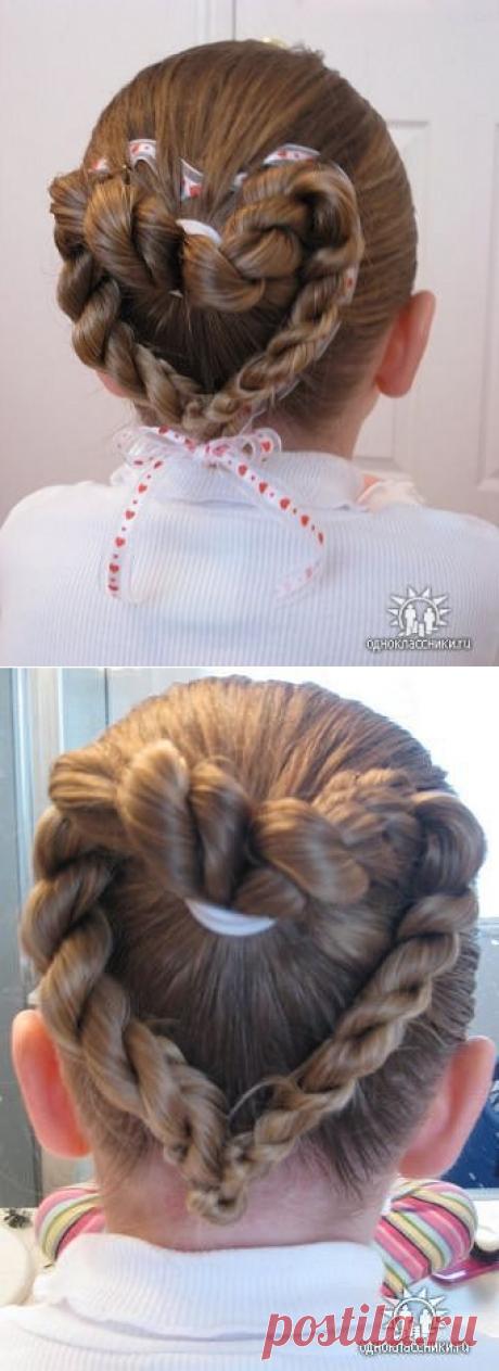 """""""Королевские"""" причёски для девочек (подробные фото-инструкции)"""