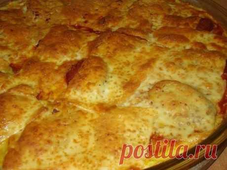 Картофельная почти пицца. Вот такую пиццу вы точно не пробовали. Не пожалеете.