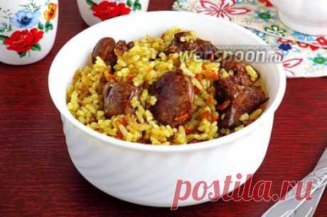 Рис с куриной печенью в мультиварке | Кулинарные рецепты