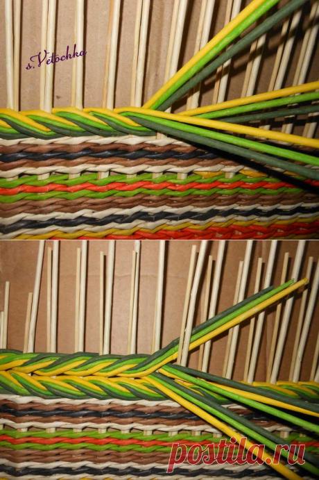 Тема: Мастерская Веточки (106/206) - Плетение из газет и другие рукоделия - Плетение из газет